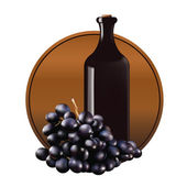 Grape01 — Stock Vector