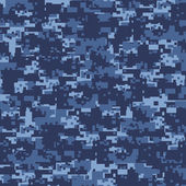 Military blue camouflage — Stock Photo