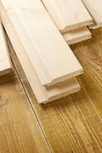 Wood planks on wooden board — Stock Photo