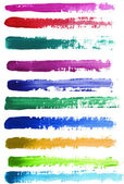 Watercolor baners — Stock Photo