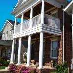 Brand New Suburban American Dream Home — Stock Photo