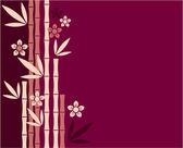 Oriental Background Illustration — Stock Vector