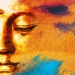 Abstract Buddhist Collage Background - Dream — Stock Photo