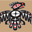Thunderbird - Native AmericStyle Vector — Vector de stock #8918768