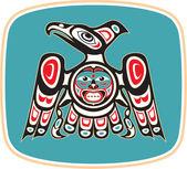 Eagle - native american style vecteur — Vecteur