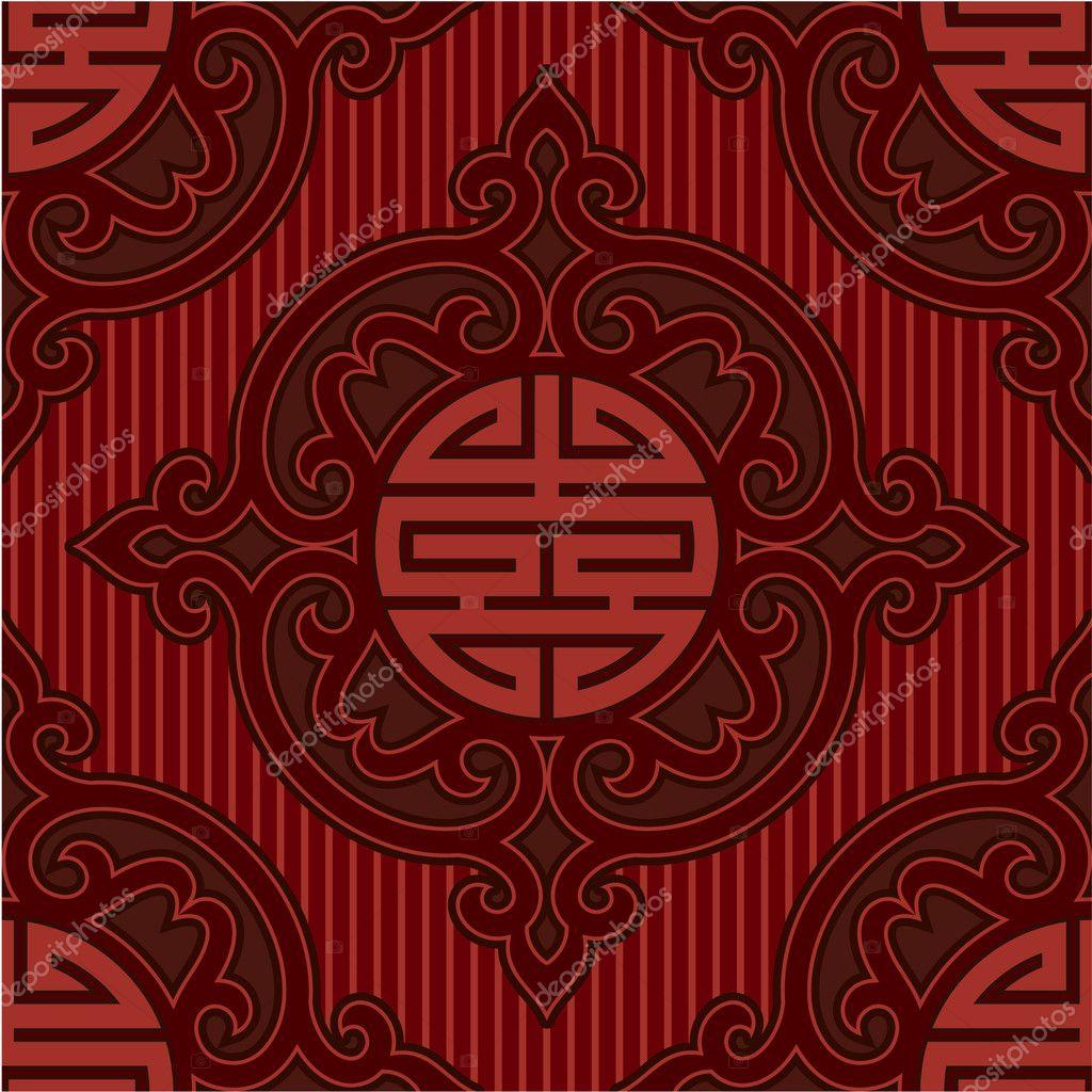 Vector Oriental Chinese Seamless Pattern (Tile, Wallpaper ... | 1024 x 1024 jpeg 172kB