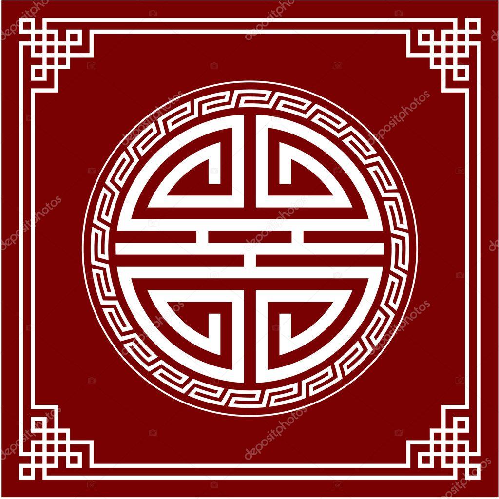 Oriental Border Designs Vector Oriental Chinese Design