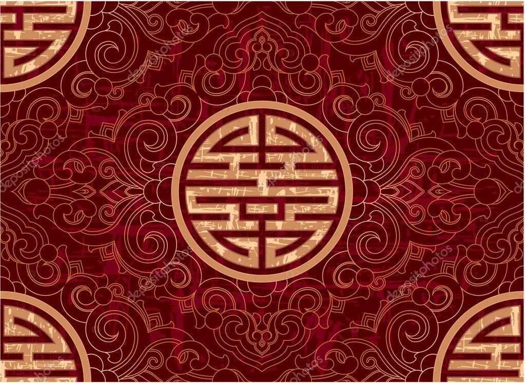 Vector Seamless Chinese Pattern u2014 Stock Vector u00a9 LeshaBur #8919147