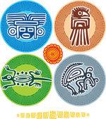 Set of Mexican Design Elements — 图库矢量图片
