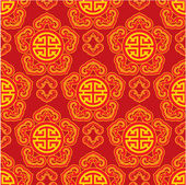 Oriental Seamless Pattern — Stock Vector