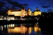 Neuburger Schloss am Abend — Stock Photo