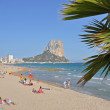 Calpe an der Costa Blanca — Stock Photo