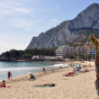Felsen in Calpe an der Costa Blanca - Foto Stock
