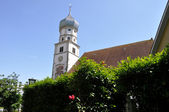 Kirche in Wasserburg am Bodensee — Stock Photo
