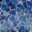 Royalty-Free Stock Photo: Gaudi Mosaic Tiles - Barcelona, Spain