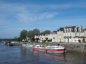 Angers, quai des Carmes, France, Europe — Stock Photo