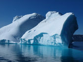 Iceberg, Greenland west coast in summer. — Stock Photo