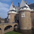 Stock Photo: Castle of Dukes of Brittany, Nantes, France.