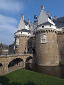 Castle of the Dukes of Brittany, Nantes, France. — Stock Photo