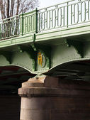 Roller bridge bearing. — Stock Photo