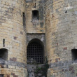 Medieval castle entrance, Angers, France. — Stock Photo
