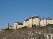 Royal Chinon fortress, France. — Stock Photo