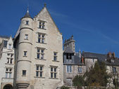 Medieval city of Chinon, France. — Stock Photo