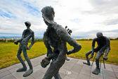 Skulptur i reykjavik, island — Stockfoto