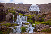 Dynjandi waterfall in the northern Iceland — Stock Photo