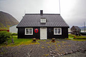 House in the countryside in Iceland — Stock Photo