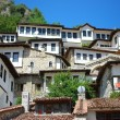 Buildings of ancient city of Berat in Albania — Stock Photo #8037737