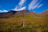 Summer landscape in the mountains of Iceland — Stock Photo