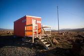 Rädda hut i en interiör av island — Stockfoto