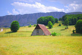 Mountainous landscapes of Montenegro — Stock Photo