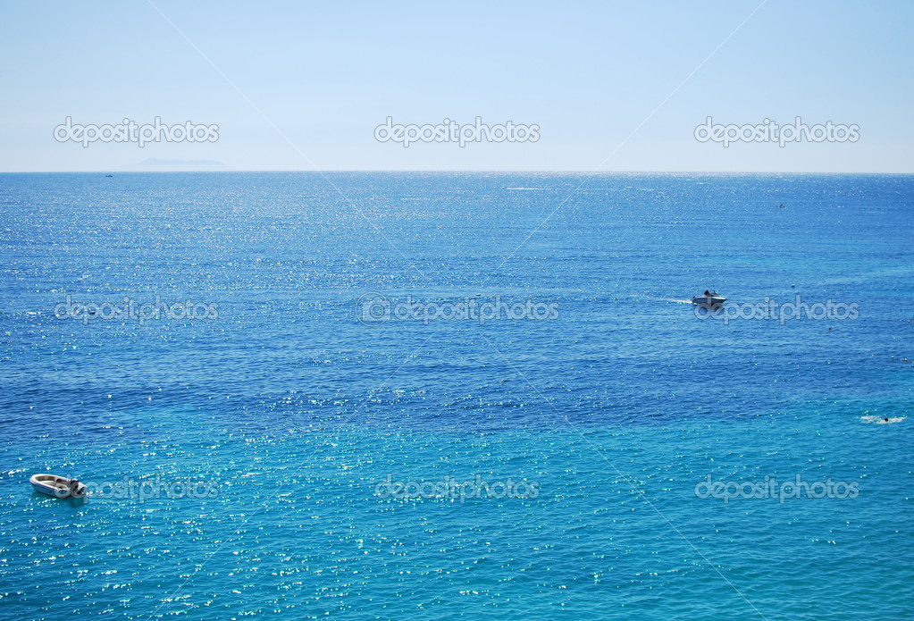 Albanian coast on a sunny summer — Stock Photo #8030748