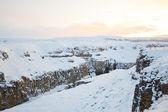 Winter landscape of Iceland, Scandinavia — Stock Photo