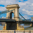 Chain Bridge in Budapest, Hungary, Europe — Stock Photo