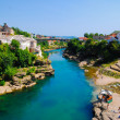 Mostar, Bosnia, Europe, Landscape in the summer — Stock Photo