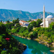 Mostar, Bosnia, Landscape in summer — Stock Photo #8447795