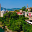 Mostar, Bosnia, Landscape in summer — Stock Photo #8447927
