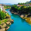 Mostar, Bosnia, Landscape in summer — Stock Photo #8447971