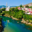 Mostar, Bosnia, Landscape in summer — Stock Photo #8448179