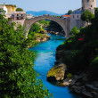 Mostar, Bosnia, Landscape in summer — Stock Photo #8448219