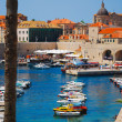 Stock Photo: Dubrovnik, Croatia, Boats in port