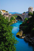 Mostar, Bosnia, Landscape in the summer — Stock Photo