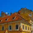 Roofs of Transylvania, Romania, Europe — Stock Photo #8492735