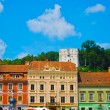 Roofs of Transylvania, Romania, Europe — Stock Photo #8492776