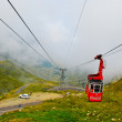 Mountain lift in Carpathians, Romania, Europe — Stock Photo #8493050
