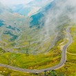 Transfagarasroad in Carpathians, Romania, Europe — Stock Photo #8493104