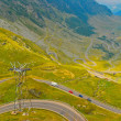 Transfagarasan road in the Carpathians, Romania, Europe — Stock Photo